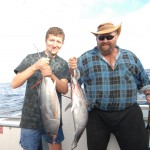 Mark Carter & Alex with Blufin Tuna