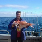 Michael with a Red Snapper