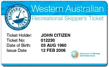 Skippers license